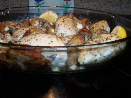 Chicken browned after 30 minutes,