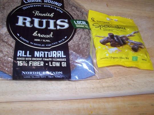 Finnish Rye Bread and Spelt Licorice