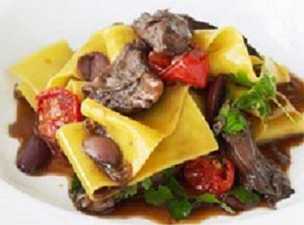lamb shanks and pasta