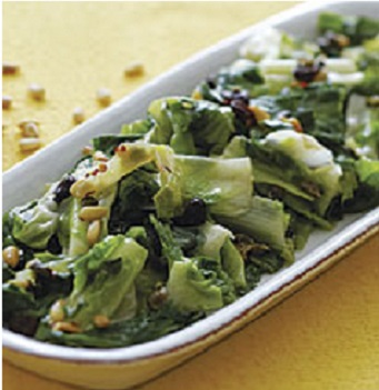 sauteed-escarole-with-raisins-pine-nuts-and-capers-104912-ss