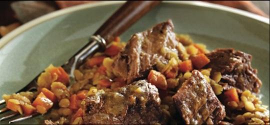 beef lentils