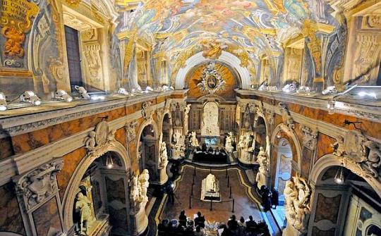Cappella Sansevero Interni Cristo Velato