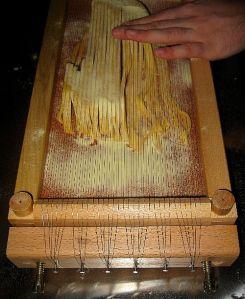 guitar pasta
