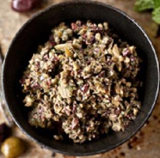 Olive-Mint Pesto