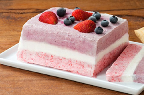 Pistachio, Strawberry, And Vanilla Semifreddo Recipes — Dishmaps