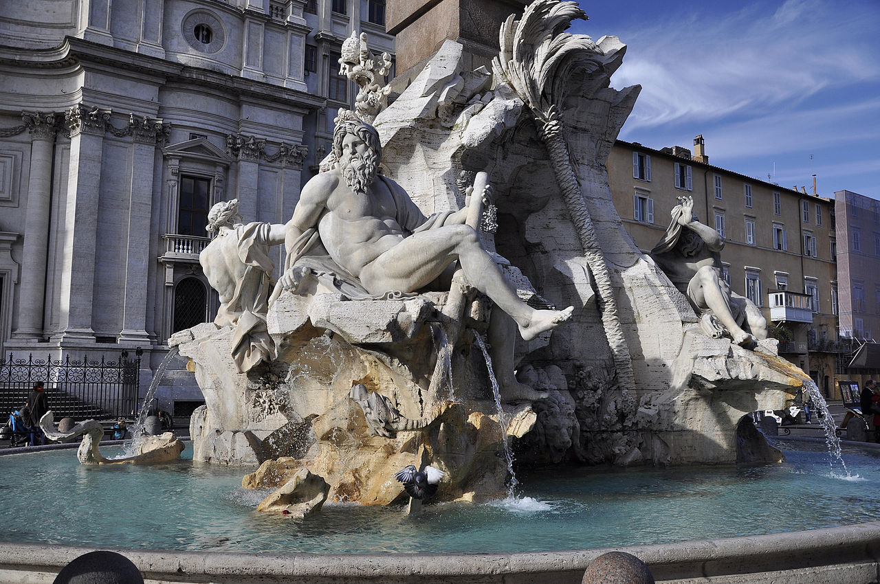 italian treasures gian lorenzo bernini jovina cooks fontana dei quattro fiume