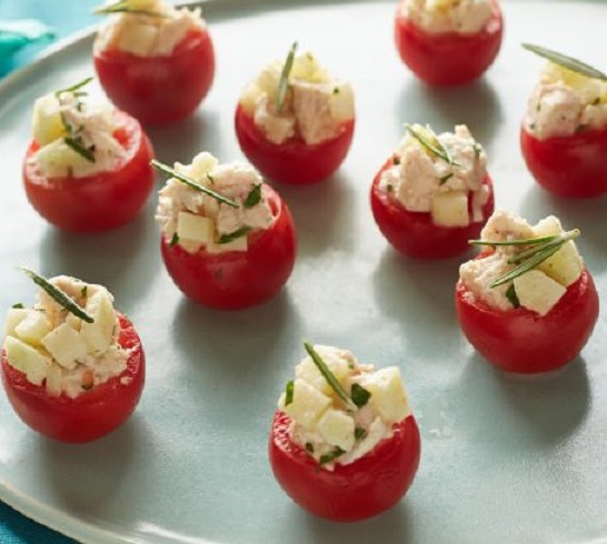 Cherry Tomato And Crab Bites Recipes — Dishmaps