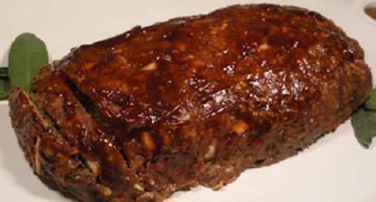 Old-fashioned-Glazed-Meatloaf