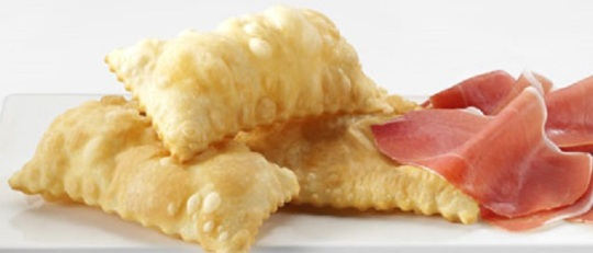 GNOCCO FRITTO WITH PARMA HAM