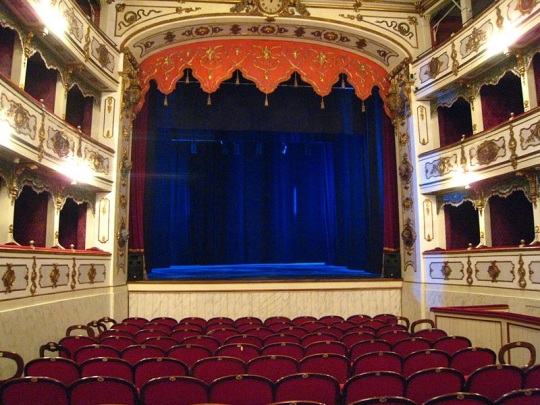 Verdi Theater in Busseto