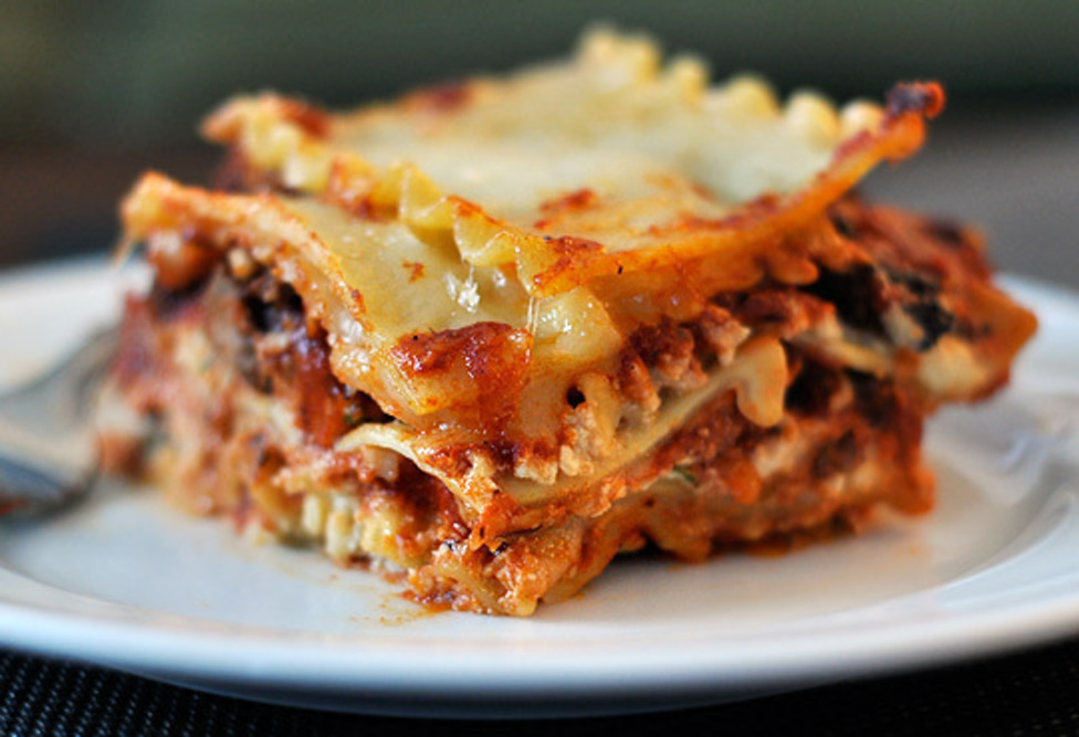 American Lasagna Recipe — Dishmaps