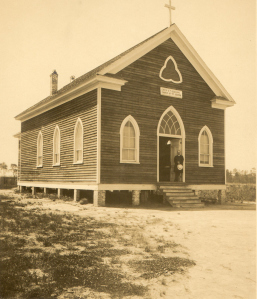 The Church of St. Joseph. (Courtesy of Julia Morton and NC Dept. of Archives and History)