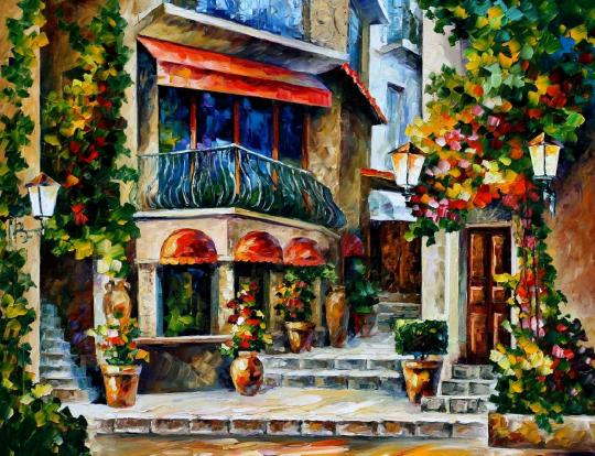 SICILY — SPRING MORNING by Leonid Afremov