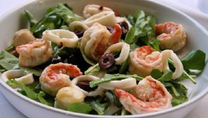 recipe: healthy seafood salad [22]