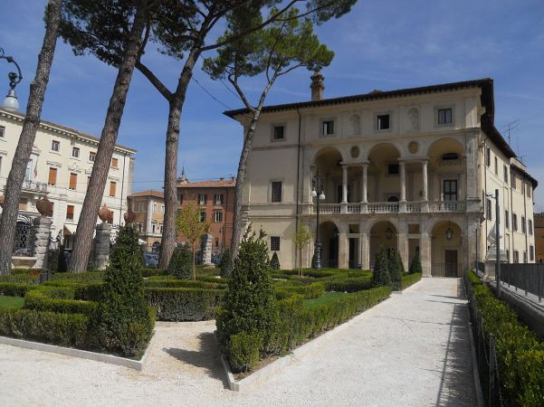 Gardens of Palazzo Vicentini.