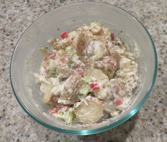 seasonal potatosalad