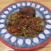 Beef Teriyaki And Stir-Fry Vegetables