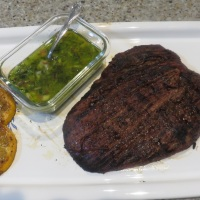 Cuban Steak Dinner