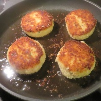 Codfish Cakes Two Ways