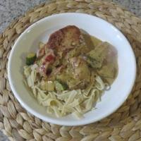 Skillet Pork Chop Dinner For Two