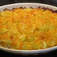 Summer Squash Potato Gratin
