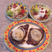 Simple Steak And Salad