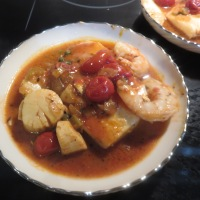 Sicilian Fish Stew For Dinner