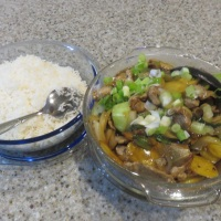 Orange Pork Stir-Fry